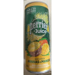 perrier&juice ananas & mangue