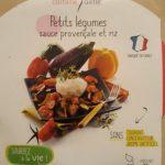petits légumes sauce provençale et riz