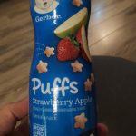 puff strawberry apple