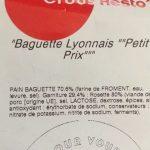 """""""Baguette Lyonnais"""""""