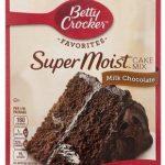 rockersuper moist cake mix milk chocolate