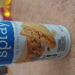 shur fine Vegetable oil cooking spray