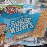 sugar wafers vanilla