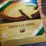 tarte à la crème