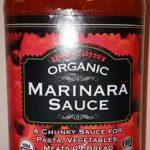 teader Joe's organic marinara sauce