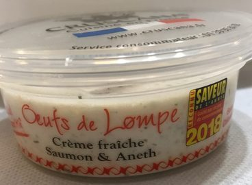 Œufs de lump à la crème - authentik recette scandinave