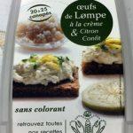 Œufs de lump à la crème et citron confit - authentik recette scandinave
