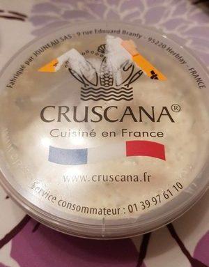 Oeufs de lompe crème fraîche crevettes nordiques et ciboulette