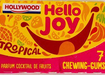 7 chewing-gums parfum cocktail de fruits