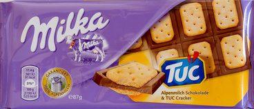 Alpenmilch Schokolade & TUC Cracker