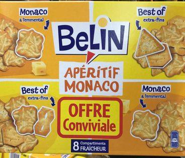 Apéritif Monaco (offre conviviale)