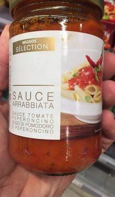 Arrabbiata Sauce Tomate Peperoncino
