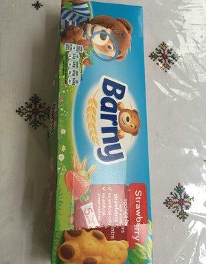 Barny sponge bear - strawberry