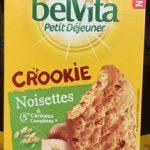 BelVita Crookie Noisettes & 5 céréales complètes