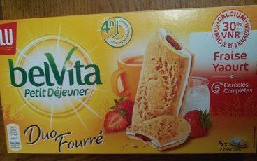 BelVita Duo Fourré Fraise Yaourt