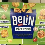 Belin crackers assortiment reception 760g offre conviviale