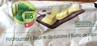 Beurre de cuisine