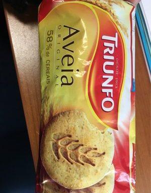 """Biscuits Aux Flocons D'avoine """"Triunfo"""" - 190GR"""