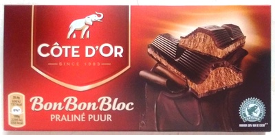 BonBonBloc Praliné Puur