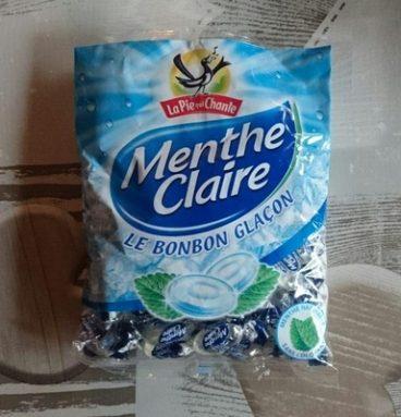 Bonbon glaçon menthe claire