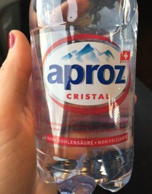 CRISTAL Eau minérale naturelle des Alpes valaisannes