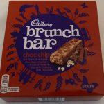 Cadbury Brunch Bar Choc Chip