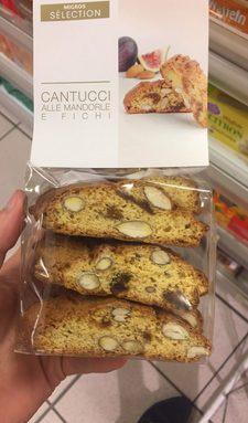 Cantucci Biscuits aux figues et aux amandes