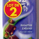 Chocolat Noisettes entières (Lot de 2)