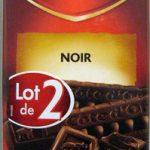 Chocolat noir (lot de 2 x 200 g) Côte d'Or