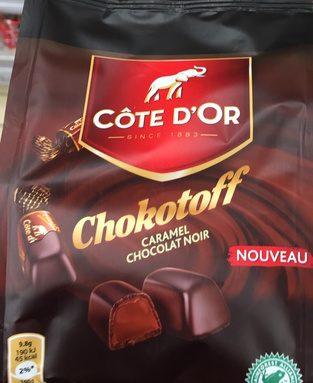 Chokotoff caramel chocolat noir
