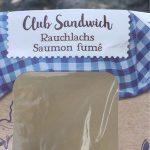 Club sandwich saumon fumé