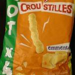 Croustilles emmental (lot x4)