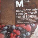 Fond de biscuit chocolat