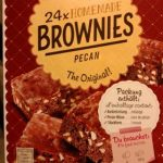 Homemade brownies pecan