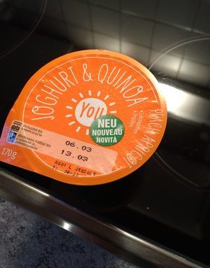 Joghurt et quinoa