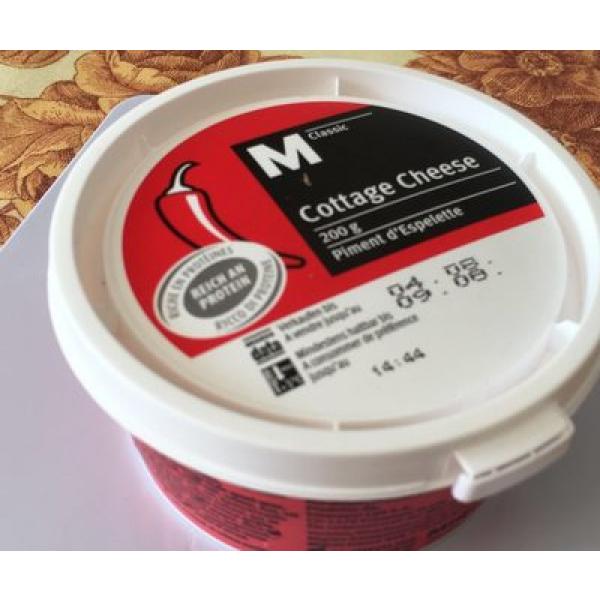 M Classic Cottage Cheese Piment D'espelette
