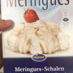 Meringues-schalen