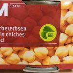 Migros Bio M classic Pois chiches