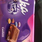 Milka Confetti Chocolate