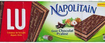 Napolitain Goût Chocolat Praliné