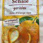 Orangen Schale