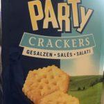 Party crackers salé