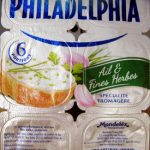 Philadelphia (6 portions) Ail & Fines Herbes (21