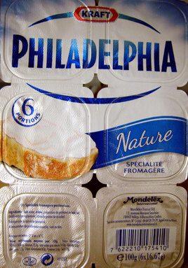 Philadelphia (6 portions) Nature (23