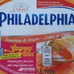 Philadelphia Light Saumon & Aneth (10% MG)