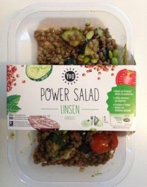 Power Salade - Lentilles