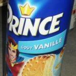 Prince goût Vanille