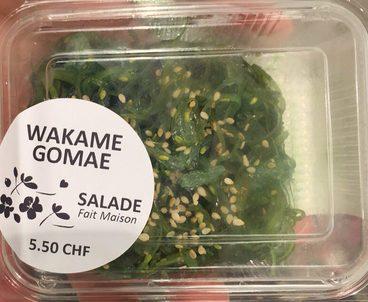 Salade Wakame Gomae