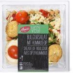 Salade de boulgour avec dip de hoummous