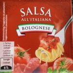 Salsa all'italiana Bolognaise
